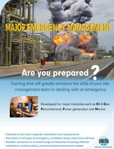 Training that will greatly enhance the skills of your site management team in dealing with an emergency.